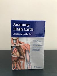 Anatomy Flash Cards Toronto, M4J 3C9
