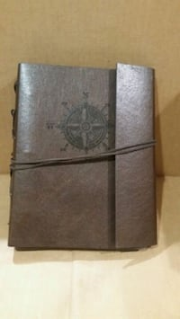 """Leather journal,diary, notebook 7""""×8""""."""