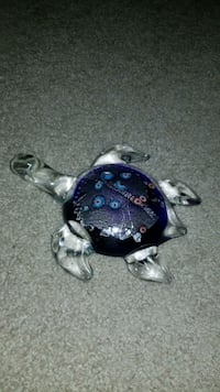 Large glass turtle