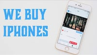We buy iPhones (Iphone 6 and upper models  Vancouver, V6E 1L9