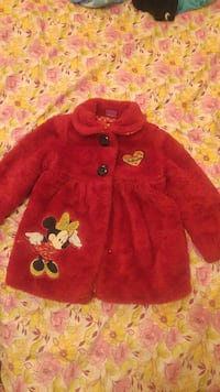 girl's Minnie Mouse coat