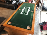 Poker/card game/craps table with five bar stools Chino, 91710