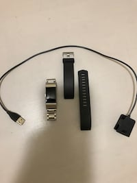 Fitbit charge 2! Price is negotiable. Comes with perfect charging cord, silicone band and also sterling silver band. I have extra links, pins and little hammer for easy changes. Nothing wrong with the Fitbit, works great, just upgraded   Sacramento, 95826