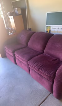 Sofa recliner- well cared for-must sell this weekend