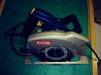 white and blue Ryobi circular saw Alexandria, 22314
