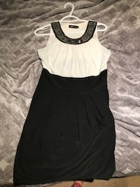 Maccine black/white dress Brampton, L6S 1E9