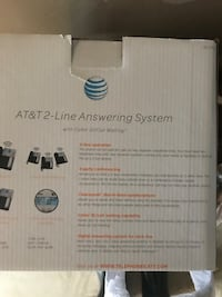 AT&T two way answering system phone