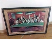 brown wooden framed painting of people Montgomery, 36117