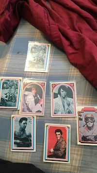 elvis cards from 1978 8 $per card  25 for all Hermantown, 55810