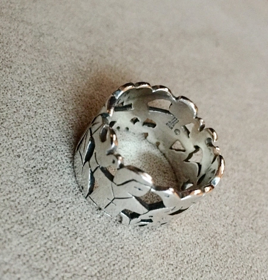 Used James Avery Vintage St Francis Sterling Silver Ring in Dedham