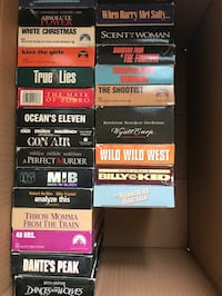 Assorted VHS movies Airdrie, T4B 2H5