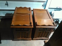 two brown wooden side tables Rogersville, 37857