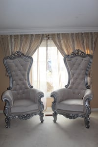 8 Royal Throne Chairs Oakville, L6M 1H9