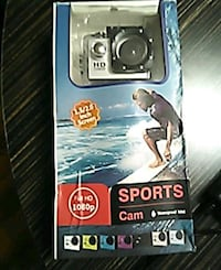 Go Pro water proof 1080HD Cam with 128gb
