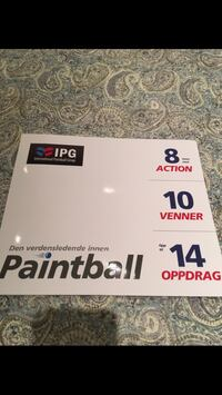 Paintball billetter! Oslo, 0265