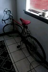 black and red bicycle frame Metairie, 70006