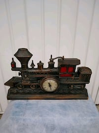 Train clock Pequannock Township, 07444