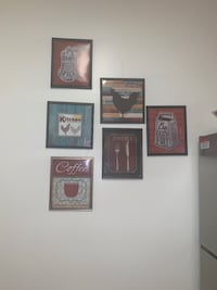 Kitchen wall decorations pictures Herndon, 20171