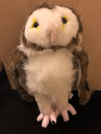 Owl soft toy brown with tags Woodbridge, 22192