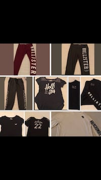 HOLLISTER LEGGINGS & SHIRTS-NEW & SOME GENTLY USED Houston, 77064