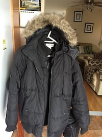 Men's black Cherokee winter jacket size large  Brampton, L7A 2Z8