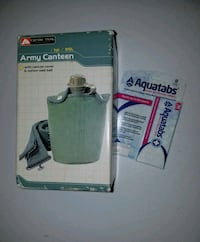 Army Canteen & Purification Tabs