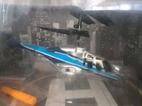 black and blue RC helicopter San Bernardino, 92411