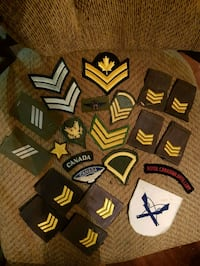 Military WWII &Possibly WWI Badges 23 pcs lot