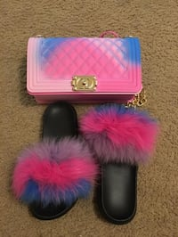 Bag and fur slippers. Price firm Toronto, M8V 1S3
