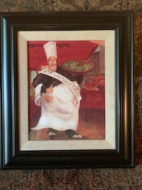 Chef Man Decorative Picture Cabot, 72023