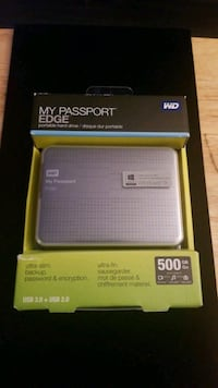 My Passport EDGE portable hard drive 500GB