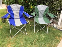 Excellent used condition camp chairs Garden Grove, 92840