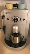 gray Spidem expressing machine.  Excellent condition and fully functional