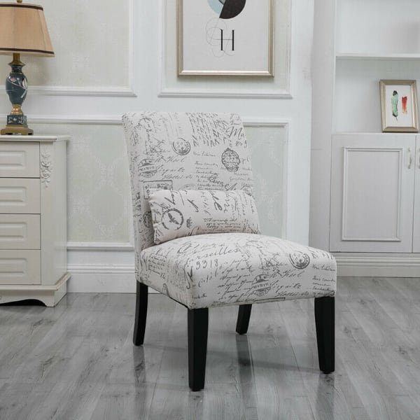 Accent Chair w/ Pillow