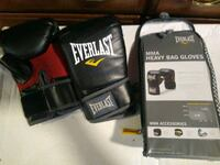 MMA heavy bag gloves by Everlast large / extra large.  Evansville