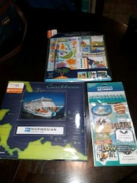 It's a Great time to Make Memories Fun! 3 Cruise Collectible albums Weymouth