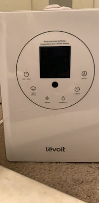 LEVOIT Humidifiers for Large Room, 6L Warm and Cool Mist Ultrasonic Humidifier for Bedroom and Babies, Vaporizer with Remote and Humidity Monitor, Home, Germ Free and Whisper-Quiet Baltimore, 21234