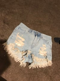 Express jean shorts great condition only worn once Imperial, 92251