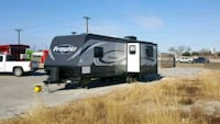 white and black RV trailer New Braunfels, 78130