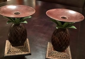 Pineapple Candle Holder / Candlesticks