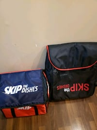 skip the dishes courier bags  Surrey, V3S 1K2