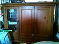 brown wooden cabinet with mirror Fort Lauderdale, 33334