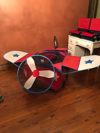 Three collapsible kids toys: airplane, tent and arcade Gastonia, 28056