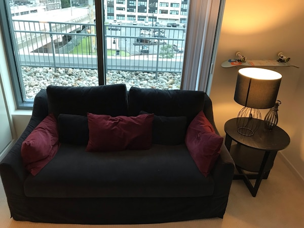 Miraculous Used Farlov Ikea Loveseat Sofa For Sale In Cambridge Letgo Gmtry Best Dining Table And Chair Ideas Images Gmtryco