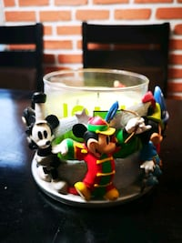 Disney Mickey Mouse candle holder with 8 different