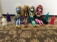 Monster high dolls with lanterns Burlington, L7M 0M8
