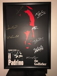 The godfather movie poster. Sherwood Park, T8A 2G8