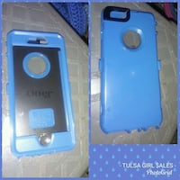 blue OtterBox iPhone 360 case collage Tulsa, 74112