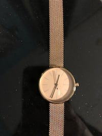 Rose gold skagen watch mesh band Vaughan, L4H 0M3