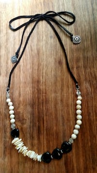 Handmade Agate and Sea Shell Necklace Round Rock, 78664